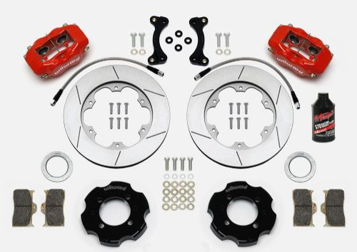MX5 NA/NB FRONT Big Brake Kit by Wilwood - Red Calipers - 280mm Slotted Vented Discs